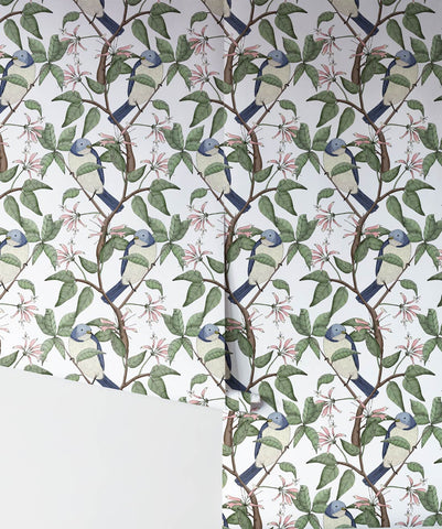 Bird Spotting Wallpaper from the Wallpaper Republic Collection by Milton & King