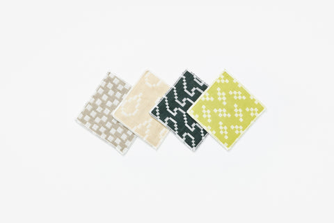 Bitmap Textiles Coasters Color design by Areaware