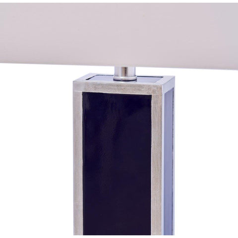 Blair Table Lamp in Silver by Couture Lamps