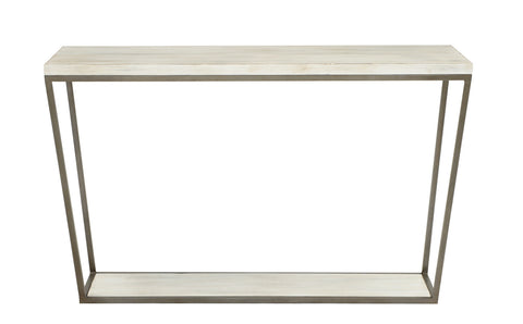 Blair Rectangle Console Table in Beachwood design by Redford House