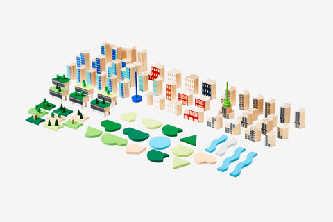 Blockitecture New York City / Big Apple design by Areaware