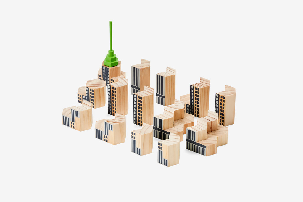 Blockitecture New York City / Skyscraper design by Areaware