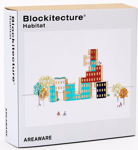 Blockitecture Habitat design by Areaware