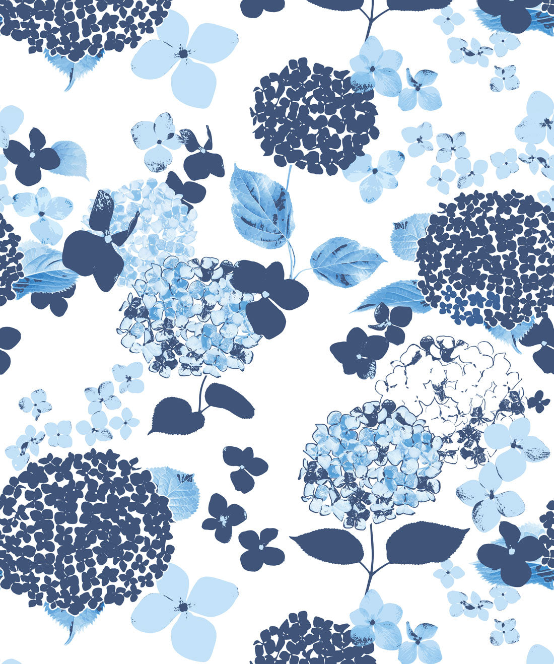 Blue Hydrangea Wallpaper From The Wallpaper Republic Collection By