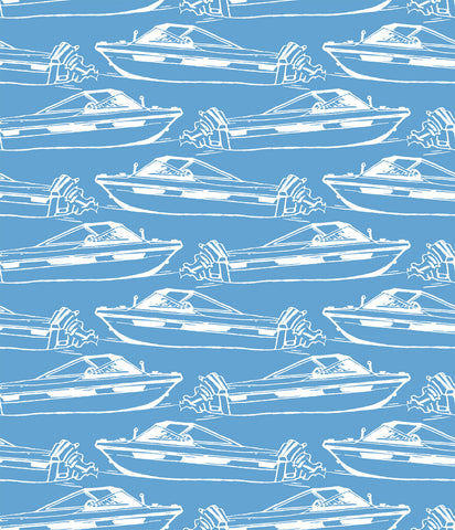 Boating Wallpaper in Pool design by Aimee Wilder