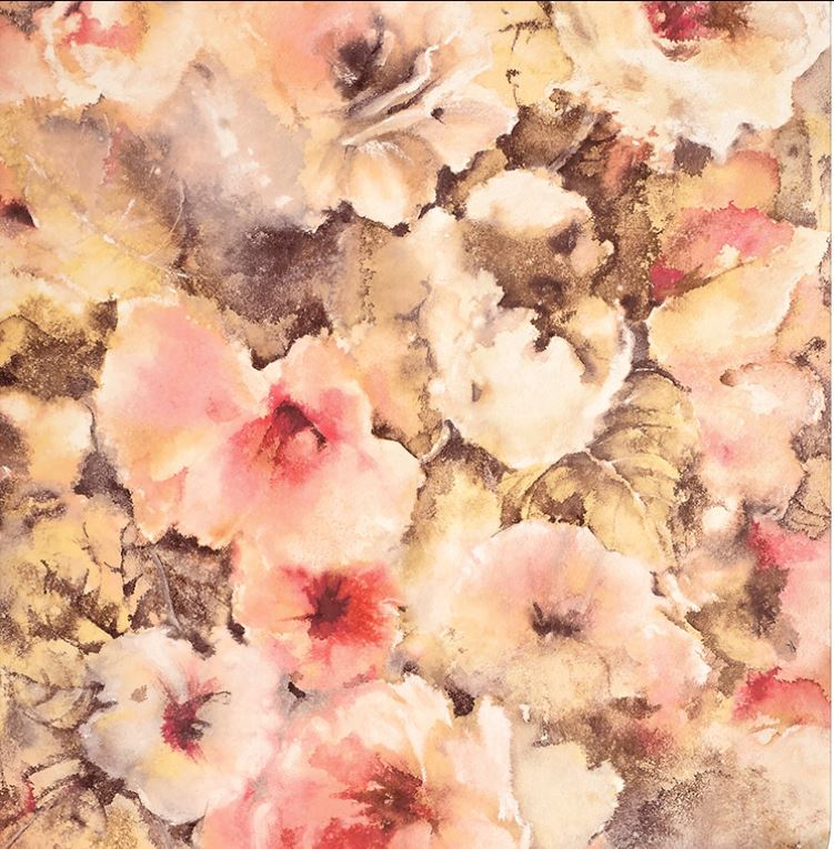 Sample Boheme Wallpaper in Blossom from the Exclusives Collection by Graham & Brown