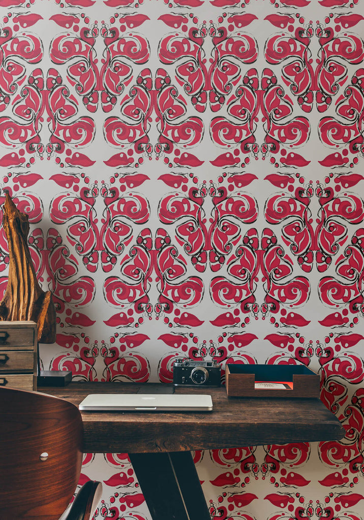Bohemian Wrap Wallpaper from the Ella & Sofia Collection by Milton & King