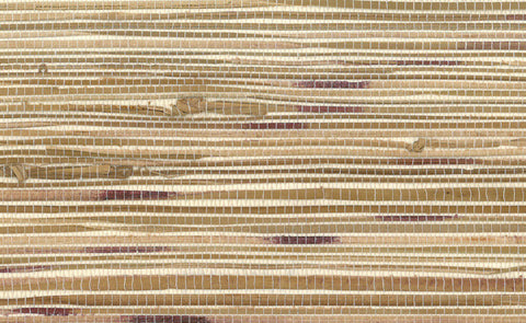 boodle grasscloth wallpaper in brown and red design by seabrook