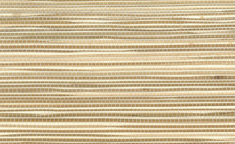 Sample Boodle Grasscloth Wallpaper in Brown design by Seabrook Wallcoverings