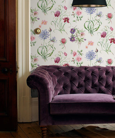 Botanical Wallpaper from the Wallpaper Republic Collection by Milton & King