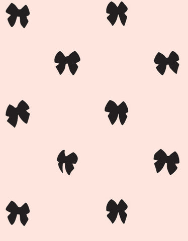 Bowie Wallpaper in Pink design by Cavern Home