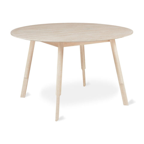 Bracket Round Dining Table in Various Colors by Gus Modern