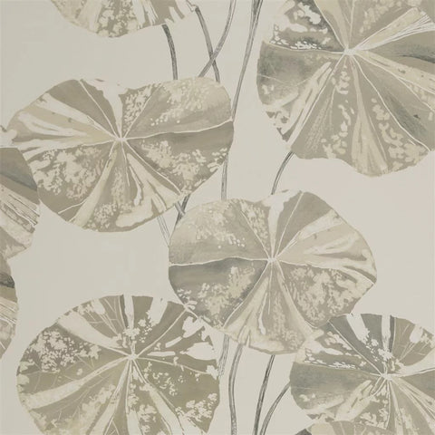 Brahmi Wallpaper in Oyster from the Zardozi Collection by Designers Guild