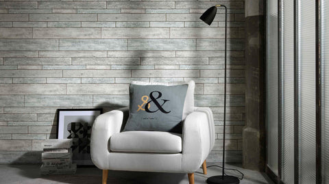 Bram Faux Wood Wallpaper design by BD Wall