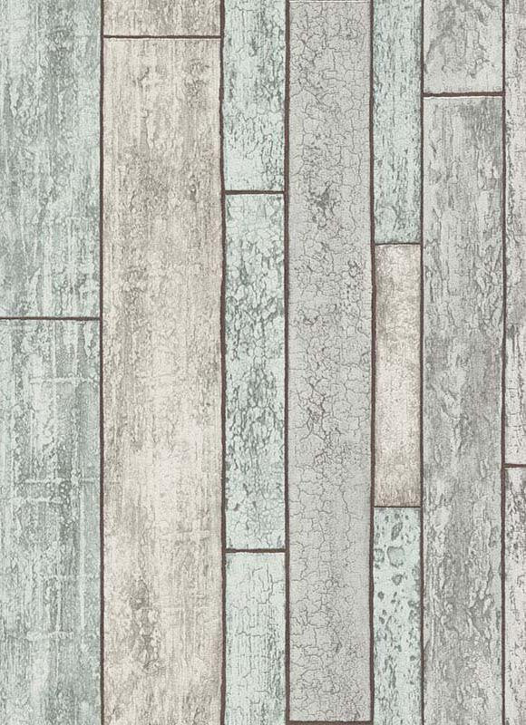 Bram Faux Wood Wallpaper In Blue And Grey Design By BD Wall