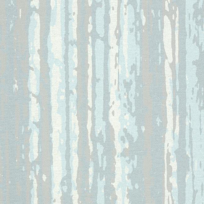 Sample Briarwood Wallpaper in Blue and Pearlescent from the Terrain Collection by Candice Olson for York Wallcoverings