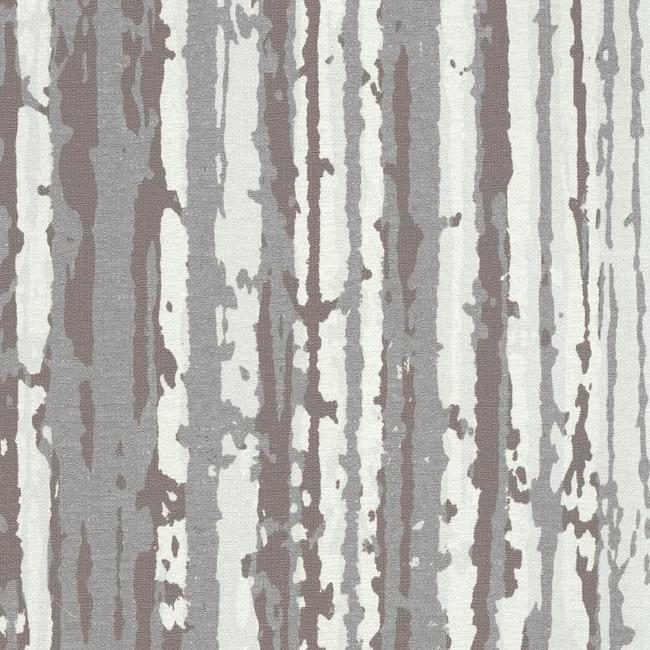 Briarwood Wallpaper in Brown and Ivory from the Terrain Collection by Candice Olson for York Wallcoverings