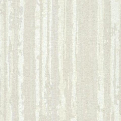 Briarwood Wallpaper in Ivory and Beige from the Terrain Collection by Candice Olson for York Wallcoverings