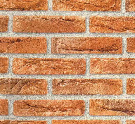 Brick Red Contact Wallpaper by Burke Decor