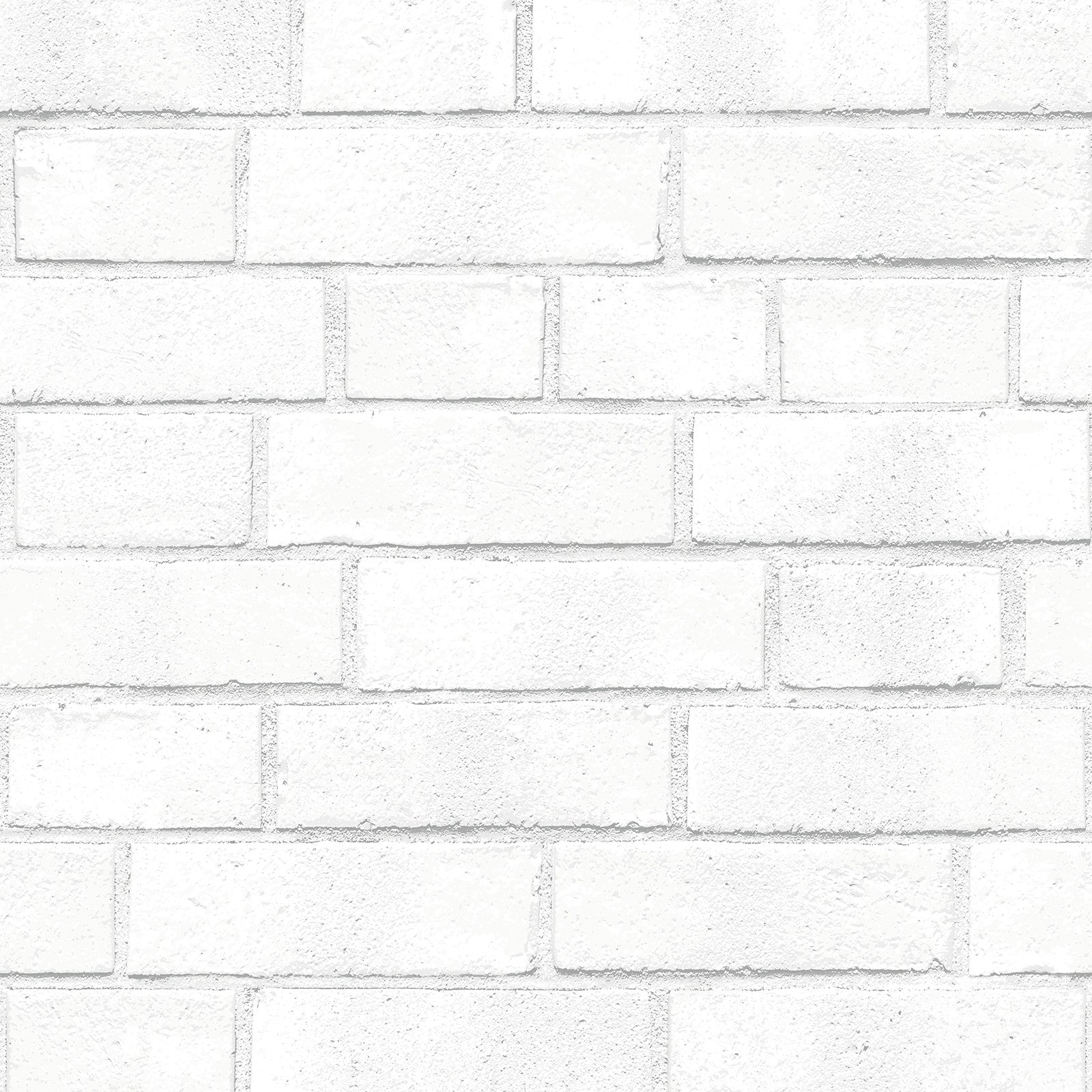 Sample Brick White Textured Self Adhesive Wallpaper design by