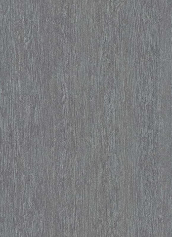Briette Faux Wood Wallpaper in Grey Blue design by BD Wall