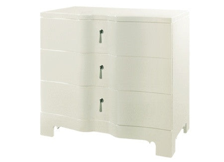 Brigitte Side Cabinet in White design by Bungalow 5