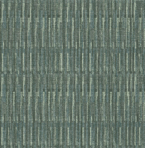 Brixton Texture Wallpaper in Green from the Scott Living Collection by Brewster Home Fashions
