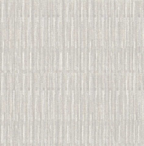 Brixton Texture Wallpaper in Light Grey from the Scott Living Collection by Brewster Home Fashions