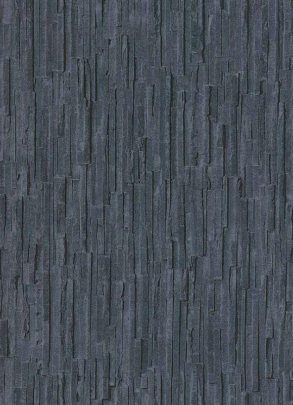 Brooke Faux Bark Wallpaper In Blue And Grey Design By Bd