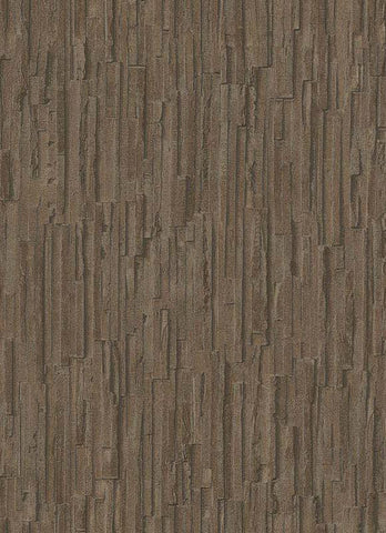 Brooke Faux Bark Wallpaper in Brown design by BD Wall