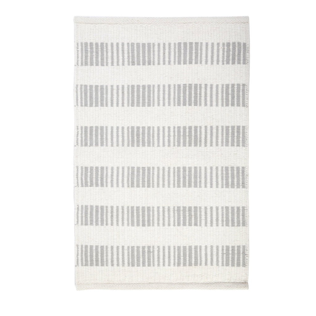 Brooke Handwoven Rug in Light Grey in multiple sizes