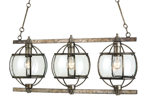 Broxton Rectangular Chandelier design by Currey & Company