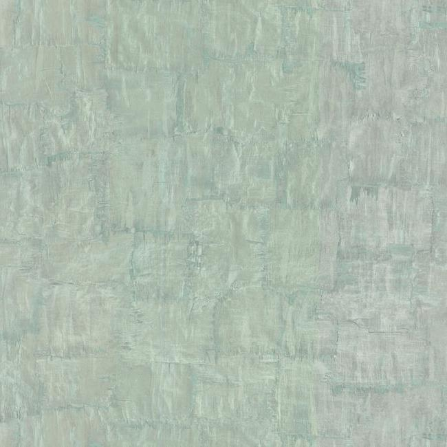 Sample Brushstrokes Wallpaper in Aqua from the Urban Oasis Collection by York Wallcoverings