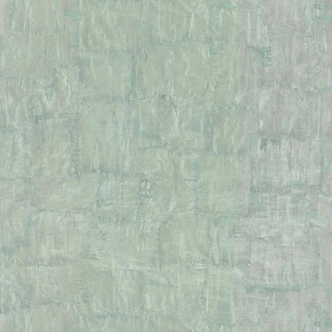 Brushstrokes Wallpaper in Aqua from the Urban Oasis Collection by York Wallcoverings