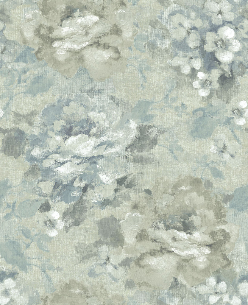 Brushstrokes Wallpaper in Shadow from the Nouveau Collection by Wallquest