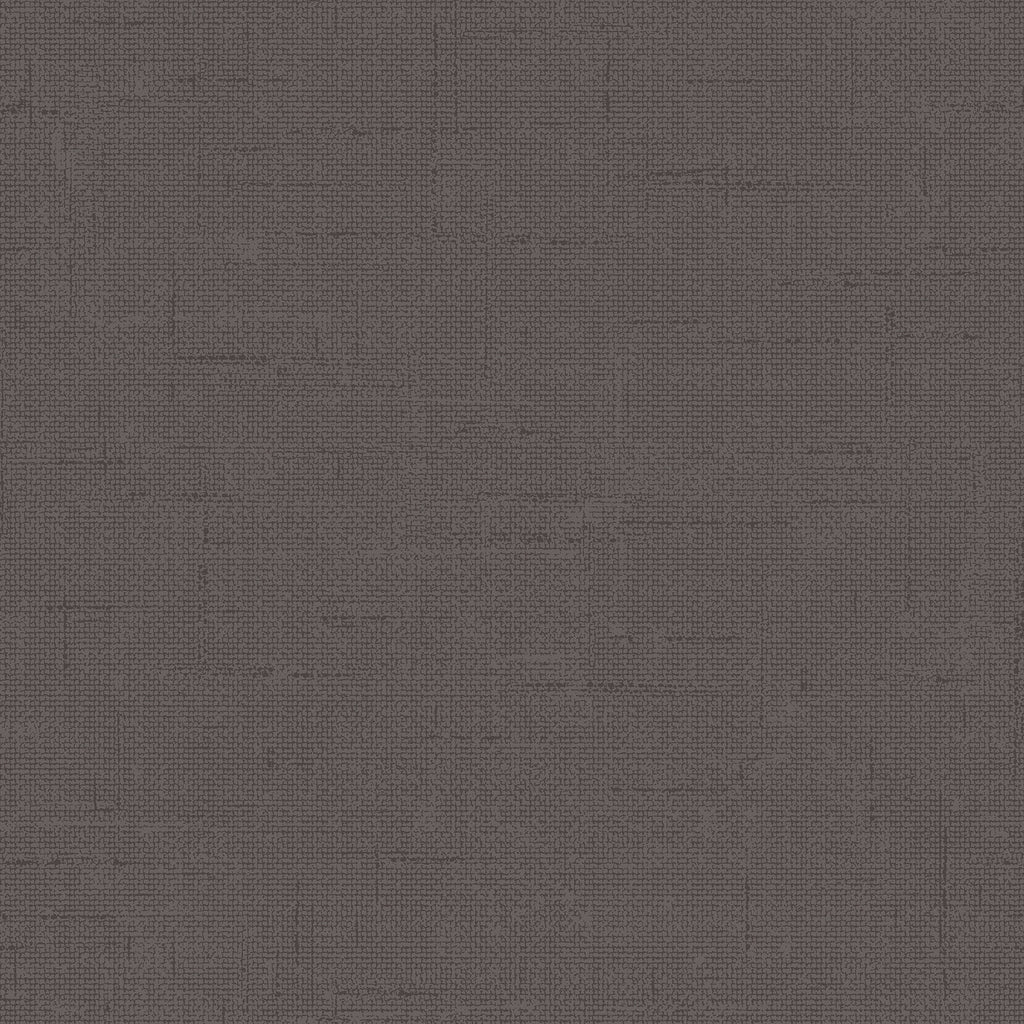 Burlap Charcoal Textured Self Adhesive Wallpaper by Tempaper