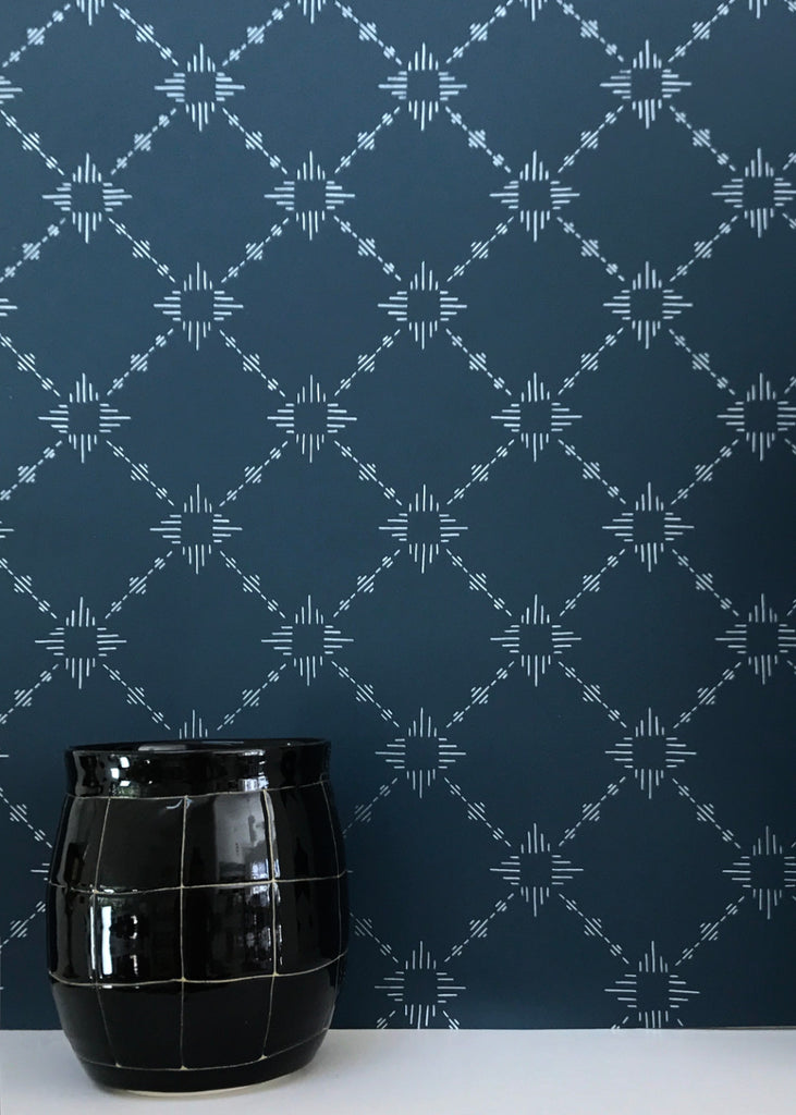 Burst Wallpaper in Eclipse design by Cavern Home
