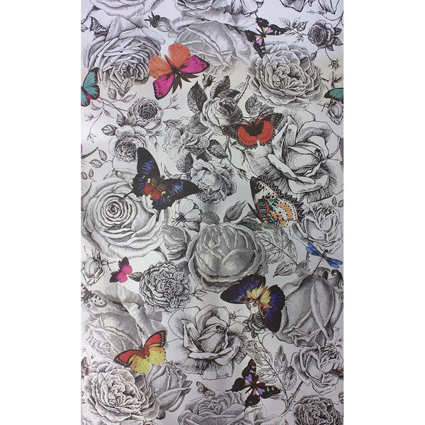 Sample Butterfly Garden Wallpaper from the Enchanted Gardens ...