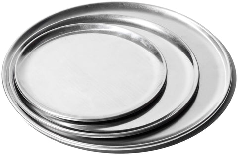 Aluminum Round Tray - 12in design by Puebco