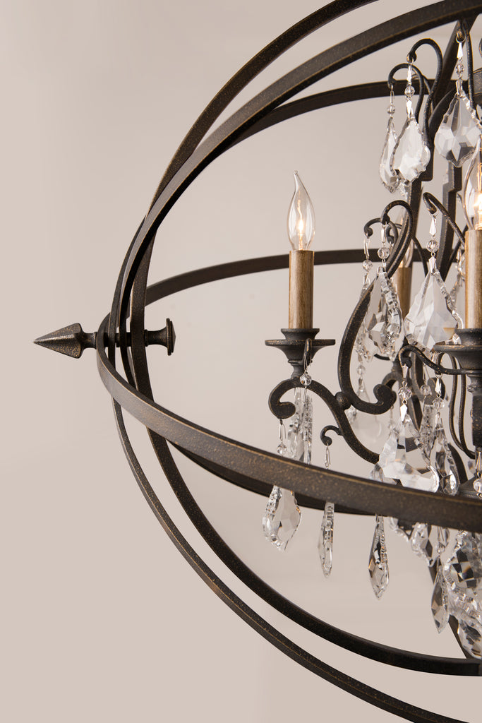 Byron Chandelier Small by Troy Lighting