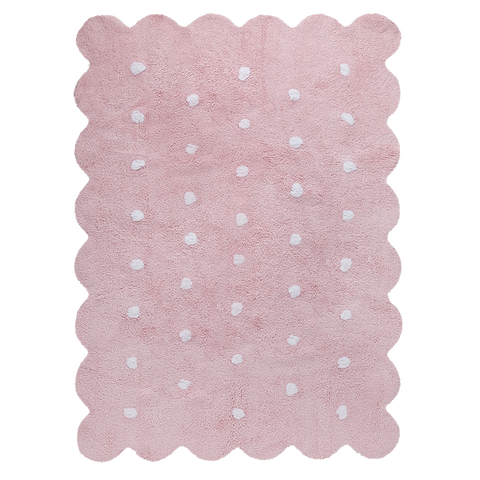 Biscuit Rug in Pink design by Lorena Canals