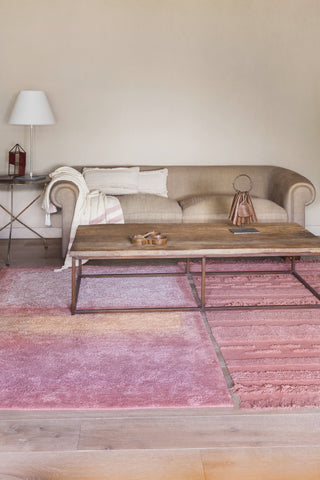 Air Washable Rug in Canyon Rose in multiple sizes design by Lorena Canals