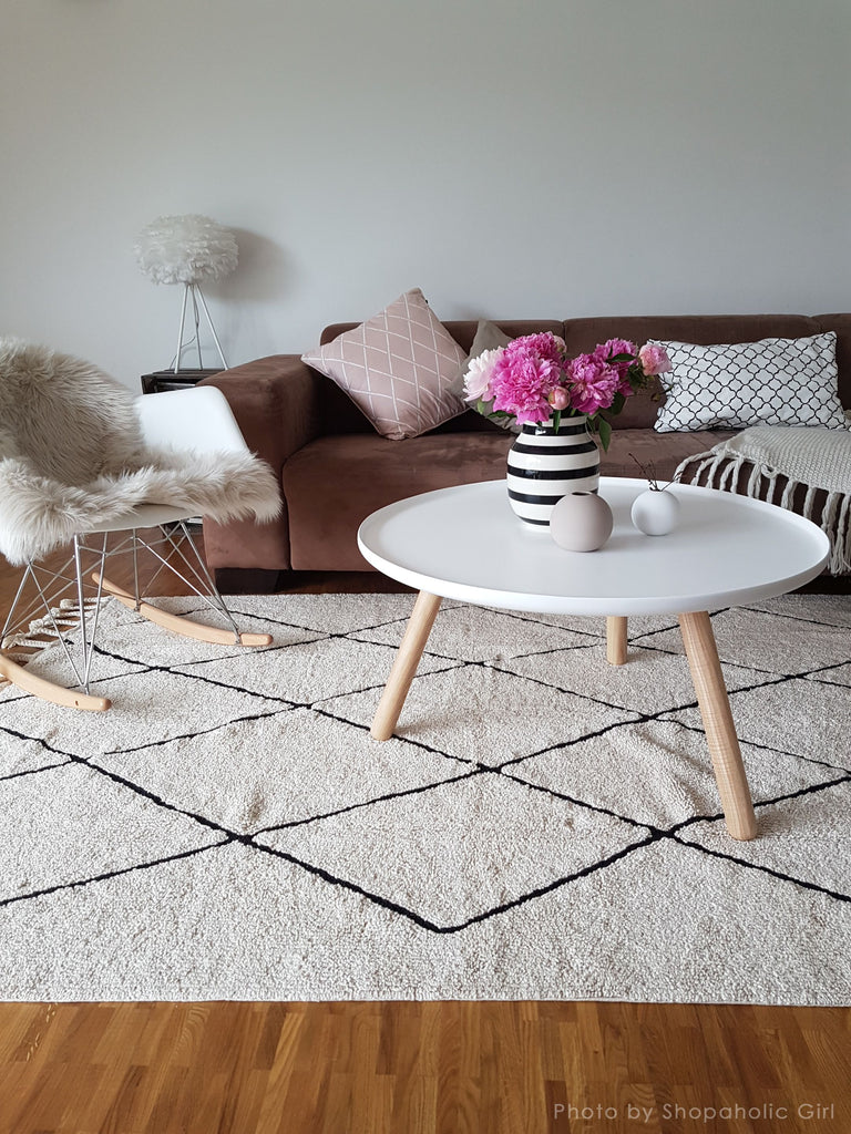 Bereber Rug in Beige design by Lorena Canals