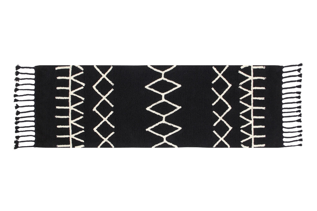 Bereber Rug in Black design by Lorena Canals