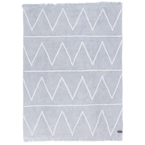 Hippy Rug in Soft Blue design by Lorena Canals
