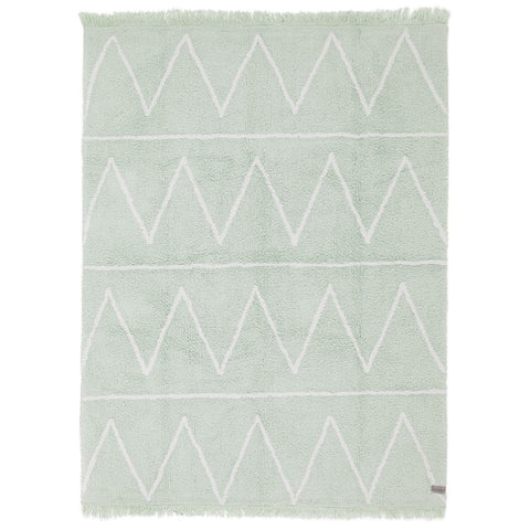 Hippy Rug in Mint design by Lorena Canals