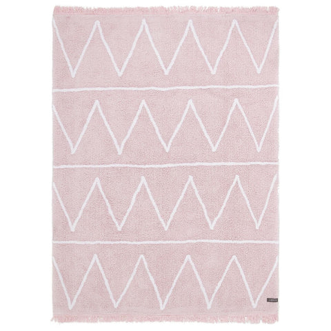 Hippy Rug in Soft Pink design by Lorena Canals