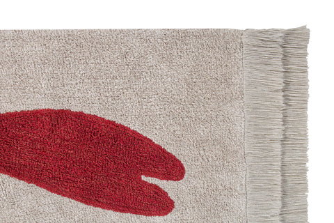 Lobster Washable Rug design by Lorena Canals
