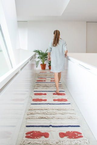 Mini Lobster Washable Rug