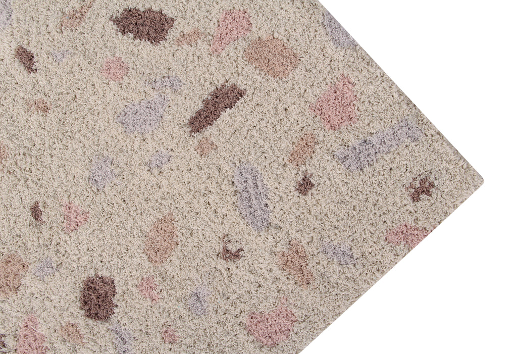 Terrazzo Rug in Moonstone design by Lorena Canals